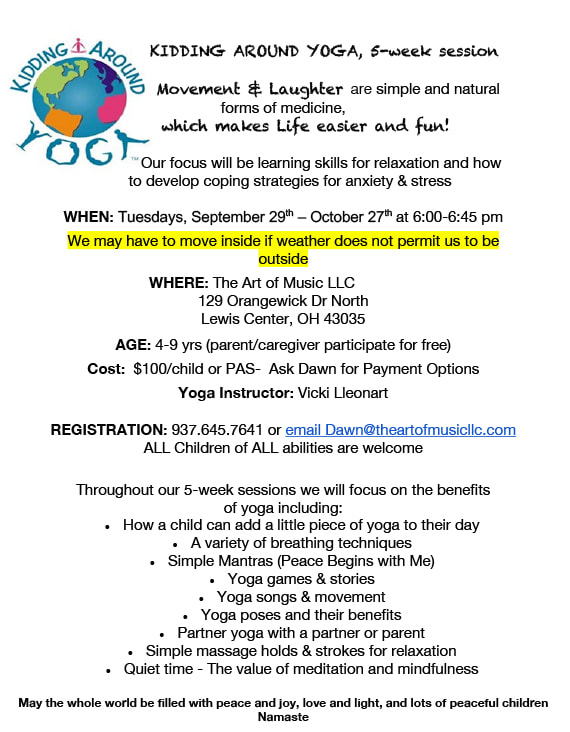 Kids Yoga Classes Delaware County